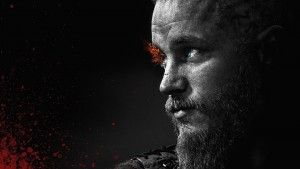 Travis Fimmel as Ragnar Lothbrok black theme walpapers for windows