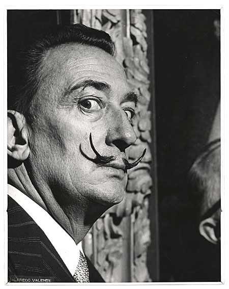 Citation: Salvador Dali, ca. 1950 / Alfredo Valente, photographer. Alfredo Valente papers, Archives of American Art, Smithsonian Institution.
