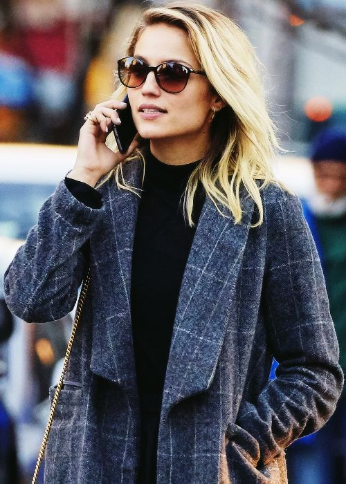 Dianna Agron candid