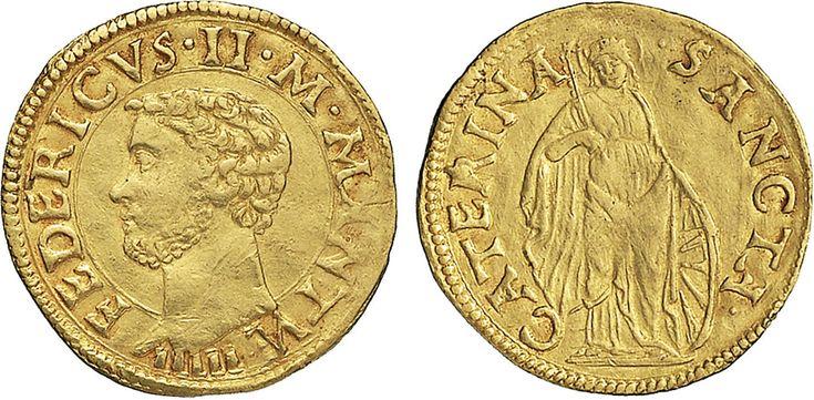 NumisBids: Nomisma Spa Auction 50, Lot 115 : MANTOVA Federico II Gonzaga (1519-1540) Ducato – CNI 17; R.M. 6 AU...