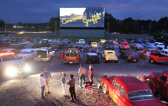 Going to the Drive-in. Is this even a thing anymore?