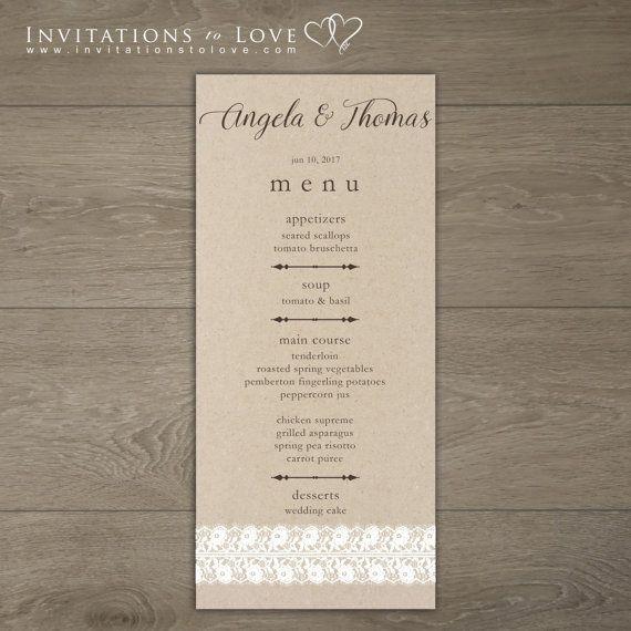Check out this item in my Etsy shop https://www.etsy.com/ca/listing/268249675/printable-wedding-menu-custom-digital
