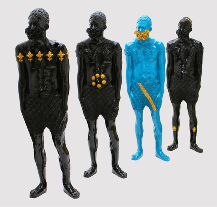 """Saatchi Online Artist: Alejandra Zermeño; Plastic, 2012, Sculpture """"Biología interna de un Ave del Paraíso"""""""