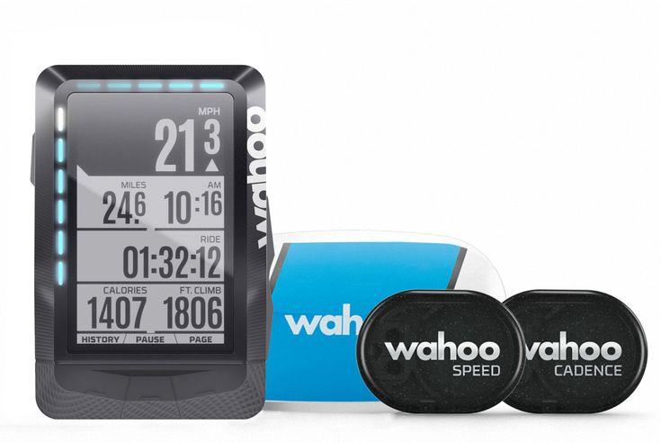 Wahoo Fitness ELEMNT - GPS Fahrrad-Computer - Bundle Das Bundle... Fahrradcomputer Speed Sensor Cadence Sensor Herzfrequenz-sensor