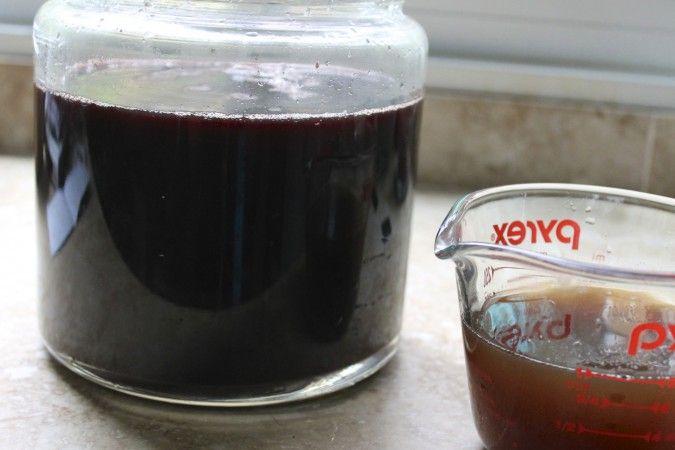 Homemade Elderberry Ginger Soda