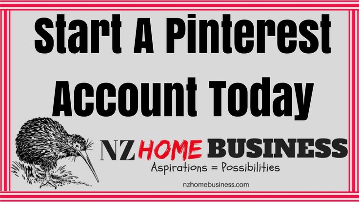 Start A Pinterest Account Today