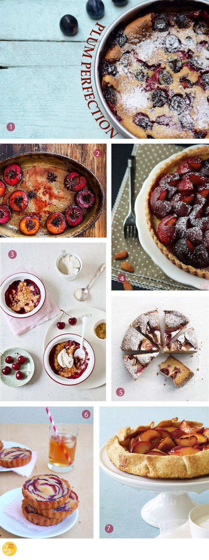 Plum Perfection {18 Plum Desserts to Get Your Juices Flowing} | Amy Atlas Events