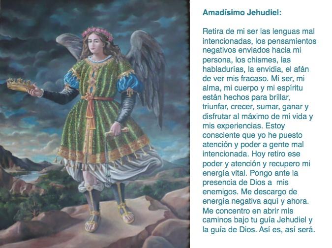 Oración contra los chismes con el Arcángel Jehudiel.