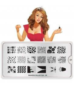 MoYou London Princess Plate Collection 09 nail art stamping plate