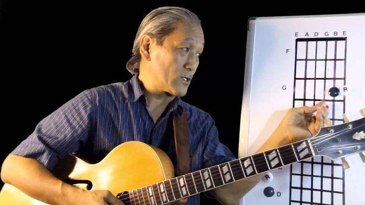 笹島明夫無料ジャズギターレッスン 3和音の効果的な練習法