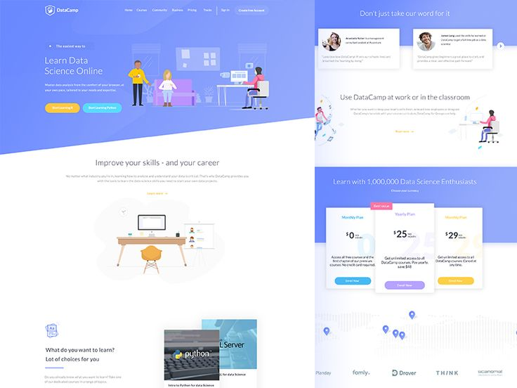 Landing Page Design by Anandu 👨🏼‍🎨