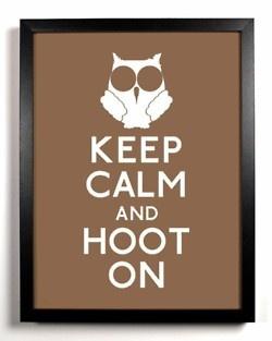 Hoot! So adorable!