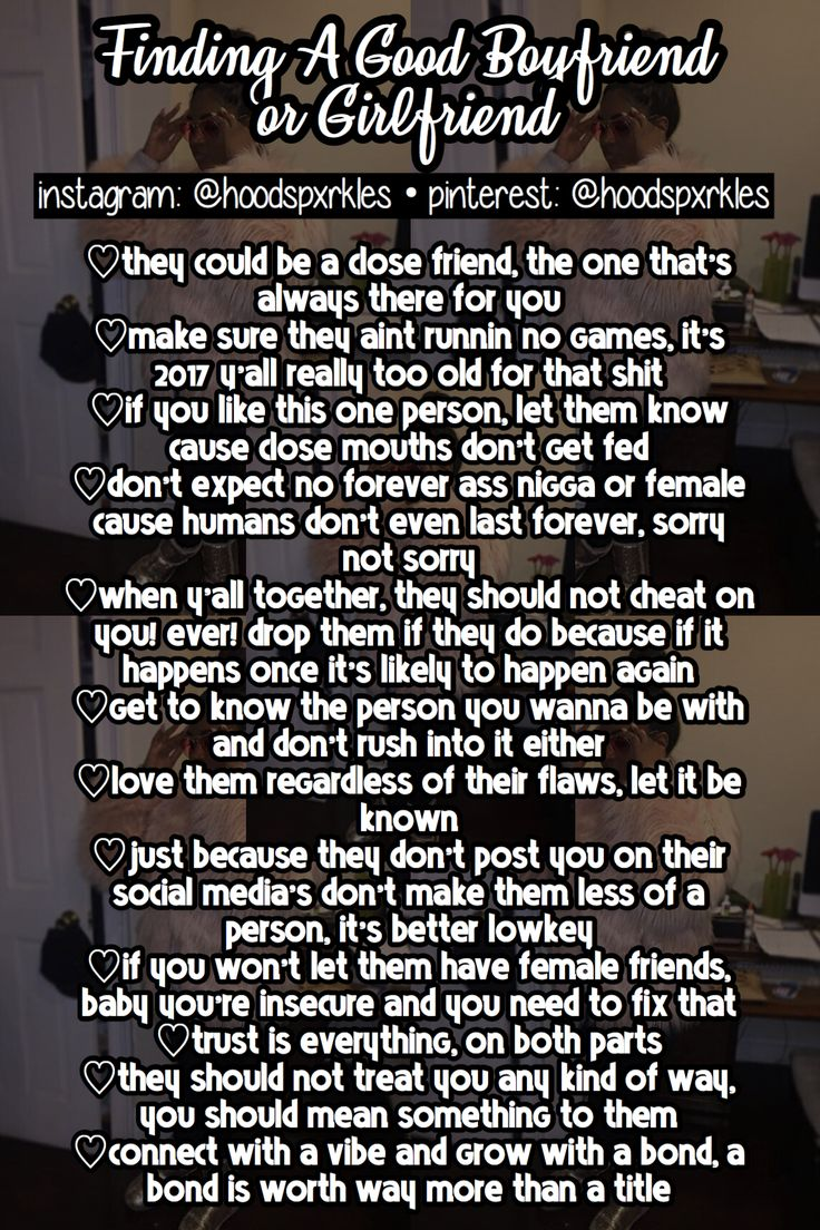 tips for a girlfriend