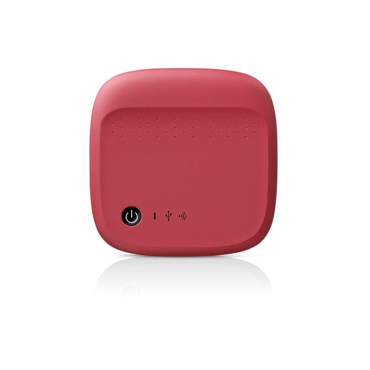 Amazon.com: Seagate Wireless Mobile Portable Hard Drive Storage 500GB STDC500402 (Red): Computers & Accessories
