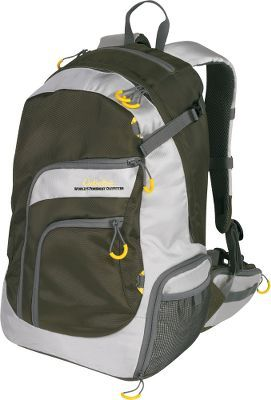 Products and backpacks on pinterest for Fishing backpack amazon