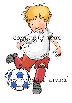 Mo's Digital Pencil - Soccer Boy, $3.00 (http://www.mosdigitalpencil.com/soccer-boy/)