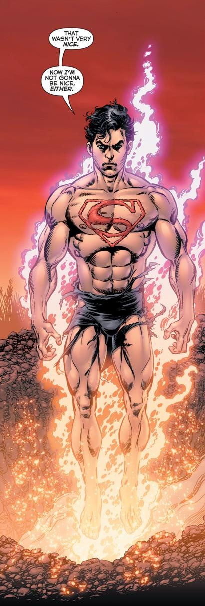 Superboy Prime: Play times over