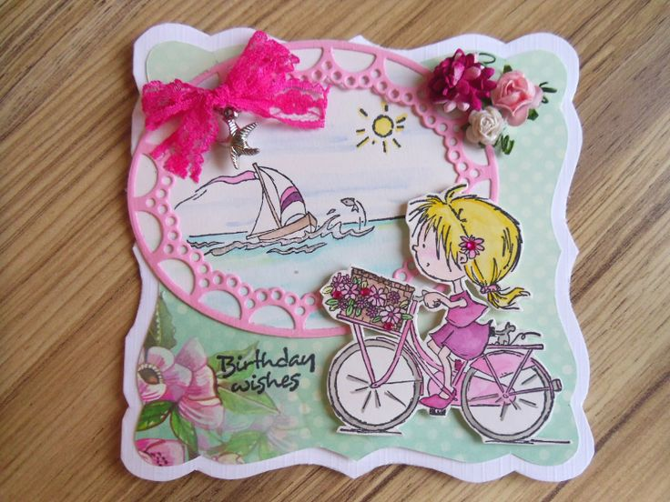 Handmade by Marleen: Daisy in Pink
