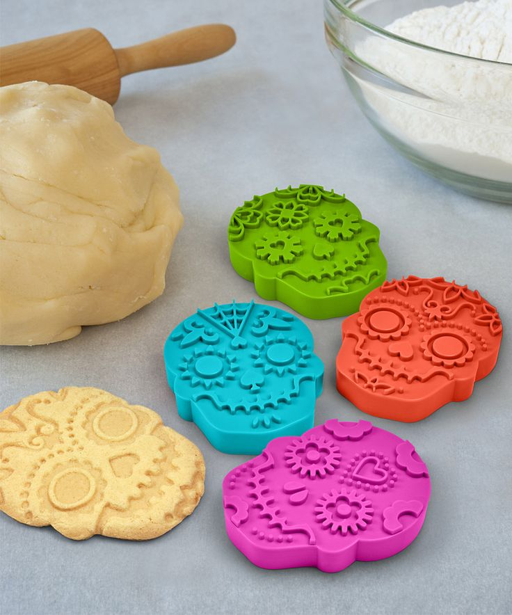 Look at this #zulilyfind! Sweet Spirits Cookie Stamp - Set of Four by Fred & Friends #zulilyfinds