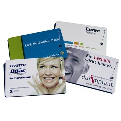 Promotional Credit Card Dental Floss.