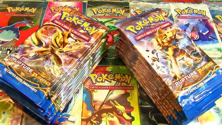MEILLEURE Ouverture de 100 Boosters Pokémon Rupture Turbo #4 EPIC CARTE ...