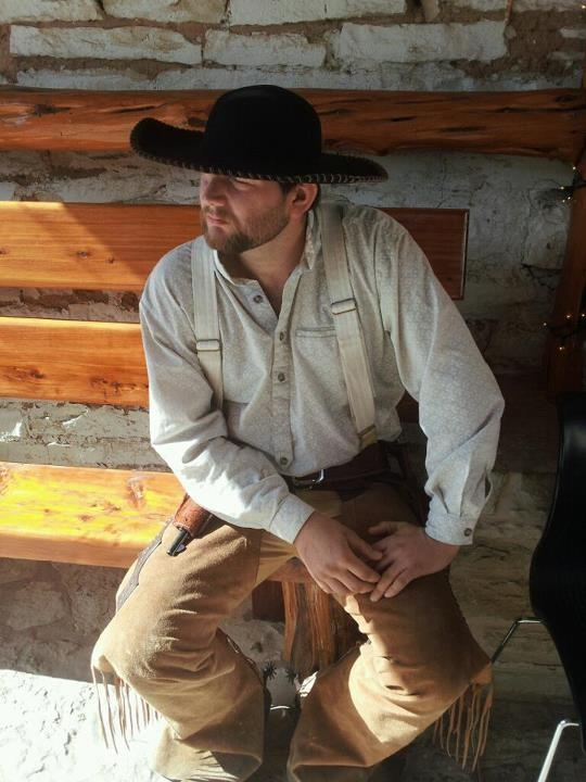 Kyle Bandy -- a real life cowboy as well as a Historic ...
