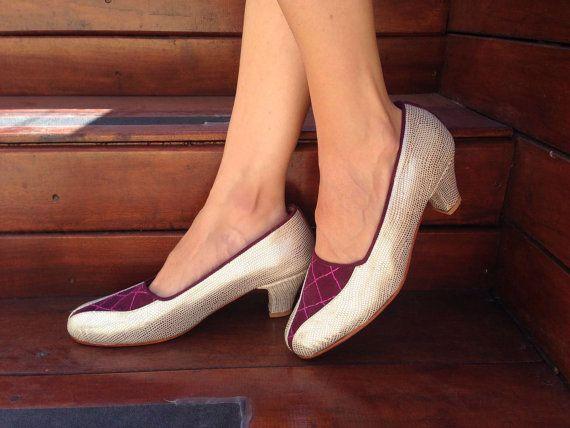 Mira este artículo en mi tienda de Etsy: https://www.etsy.com/es/listing/190764466/low-heel-leather-shoes-handmade-women