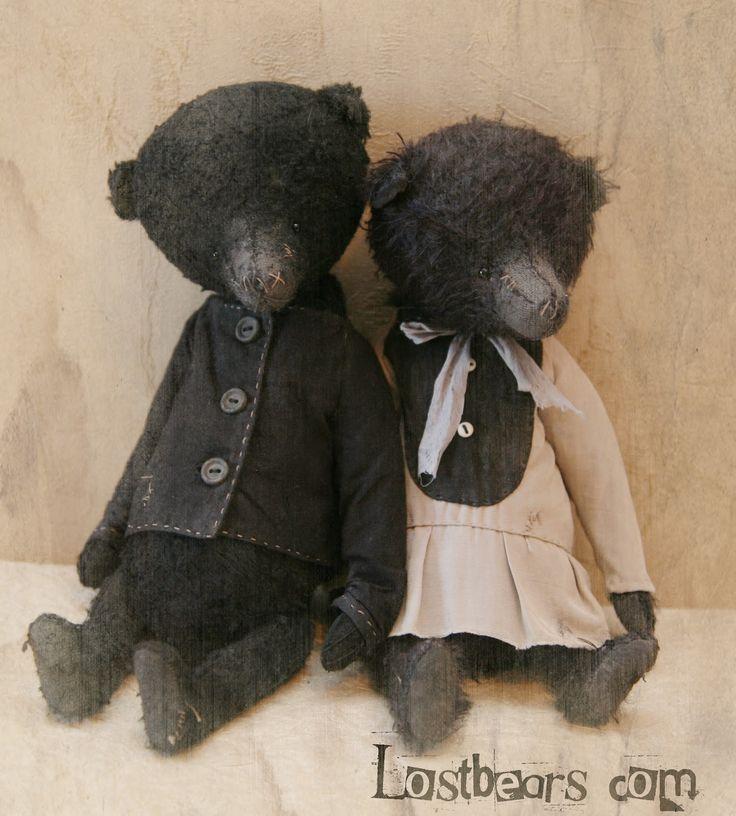Raggedy Lost Bears...