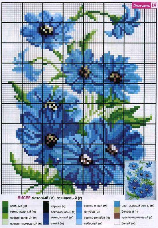 Схемы для вышивки бисером Схемы для вышивки бисером #46