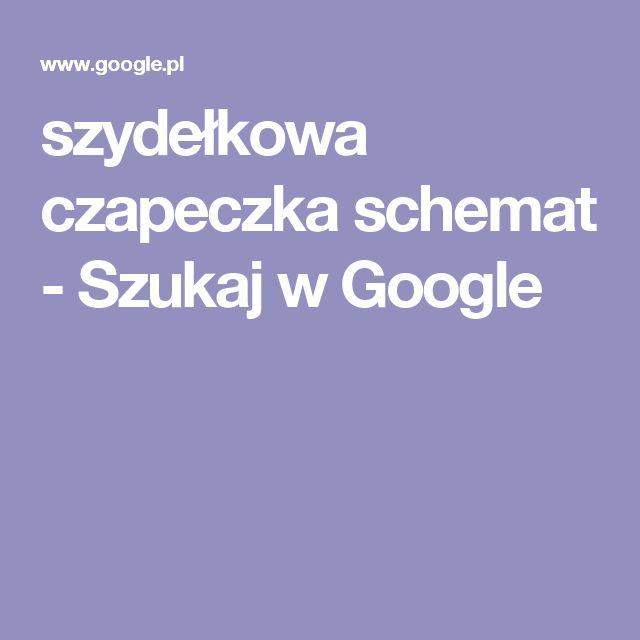szydełkowa czapeczka schemat - Szukaj w Google