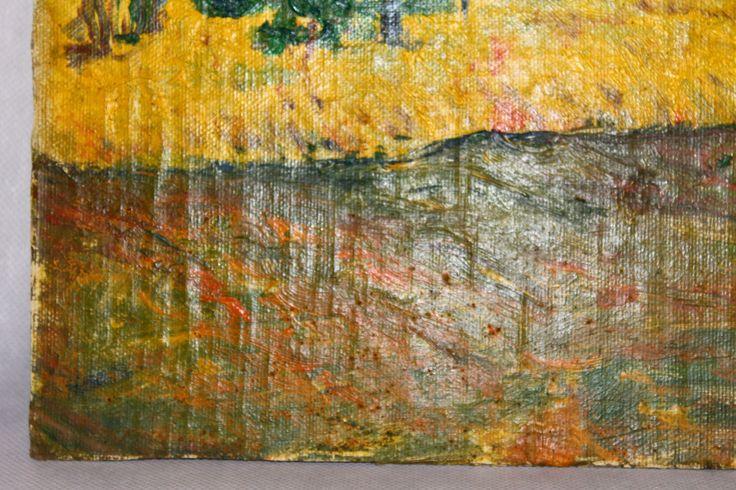 Oil on canvas signed Vincent, with hair. #aingallery #photogrid #vincent #van #gogh #vincentvangogh #vangogh #art #arts #artsy #instaart #instaartist #artist #artists #pic #picture #pictures #instapic #instapicture #impressionismus #impressionist #impressionisten #kunst #kunstwerk #kunstmalerei