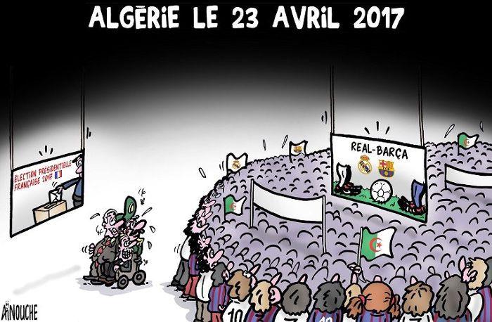 Aïnouche (2017-04-23) Algérie le 23 avril 2017, Caricature du 23-04-2017   Presse-dz