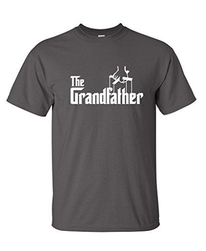 The Grandfather Fathers Day Gift Grandpa Movie Graphic Novelty Funny T Shirt L Charcoal