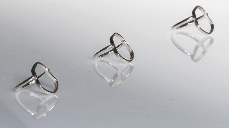 Kenno- Collection #finnishdesign #ring #silver #mirkalainedesign #design #muotoilu