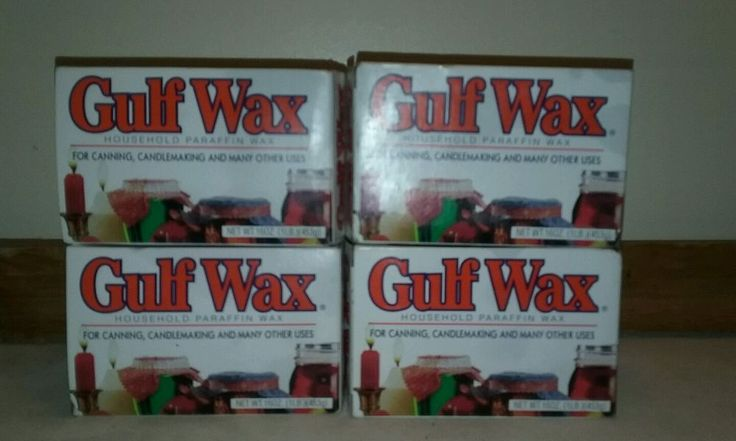 GULF WAX Household Paraffin Wax for Canning, Crafts, & Candle making NEW in Box | Crafts, Home Arts & Crafts, Candle Making & Soap Making | eBay!