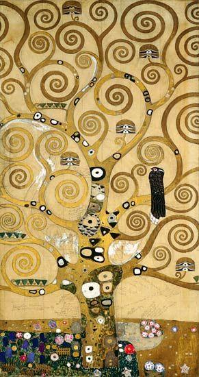Gustav Klimt - The tree of Life
