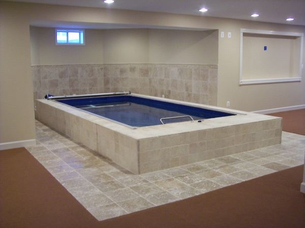 13 best basement remodel images on pinterest endless for Basement swimming pool ideas