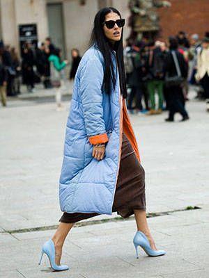 keeping warm in Milan