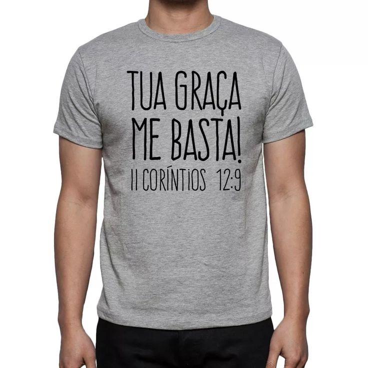 camiseta gospel | cristã | evangélica | versículo | bíblia