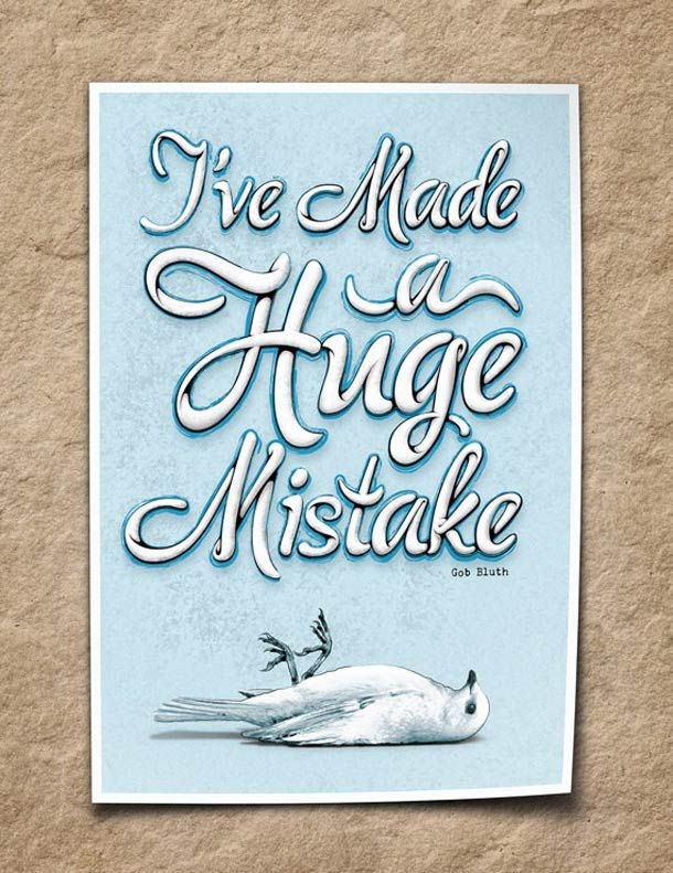 I'VE MADE A HUGE MISTAKE – BY MIKE DILUIGI