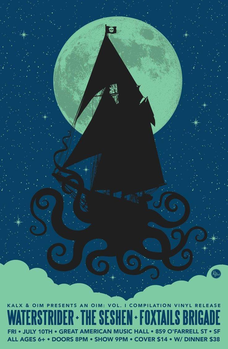 Foxtail Brigade, Water Strider,  The Seshen poster