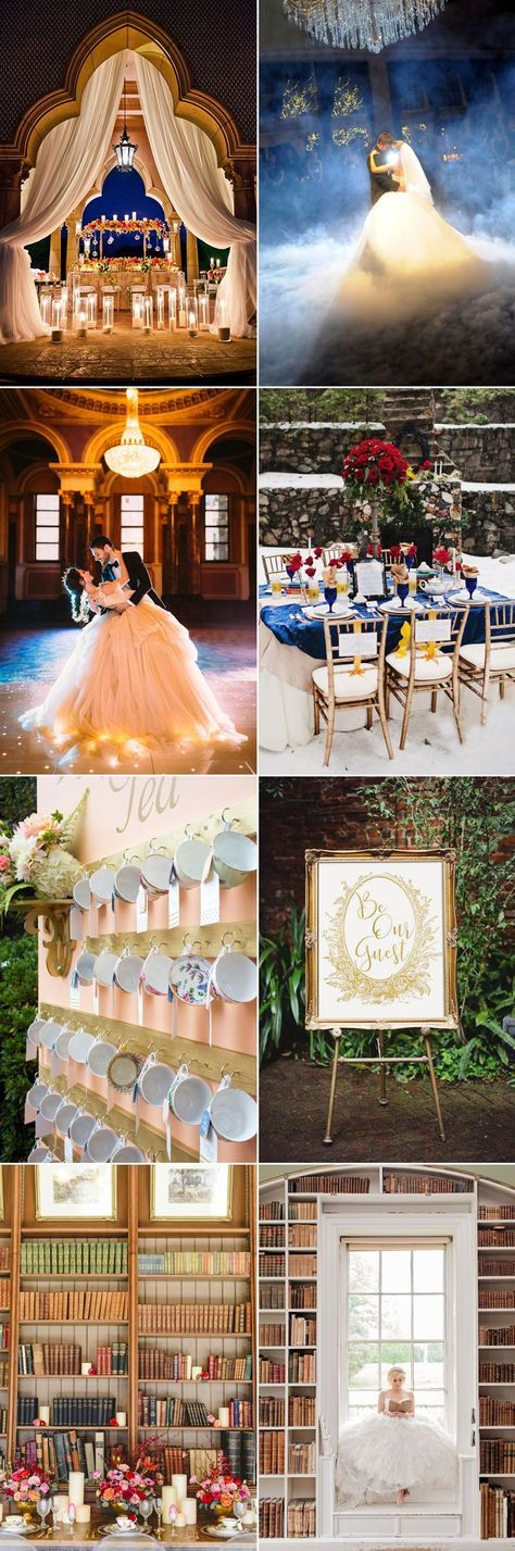 The highly anticipated, live-action remake of Beauty and the Beast is released in theatres! While we are captivated by the classic scenes that hold a lot of special memories, and the love story of Belle and her unlikely prince, it's hard not to imagine what a real Beauty and the Beast wedding would be like! …