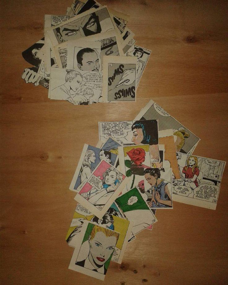 #instagram #fumetti #collage #diabolik #comics #popart #diabolikcomics #evakant #colors #blackandwhite #light #texture #legno #decoupage #bricolage #faidate #hobby #arte #love #beautiful #photo #photoday #nocrop #ritagli #dettagli