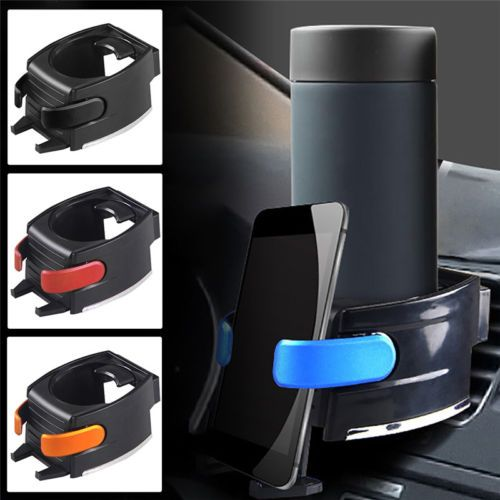 Universal Vehicle Car Truck Door Mount Drink Bottle Cup Holder&Phone Mount Stand