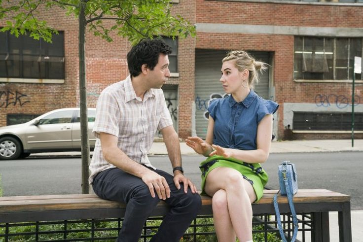 Zosia Mamet and Alex Karpovsky in Girls S6E8 (2017)