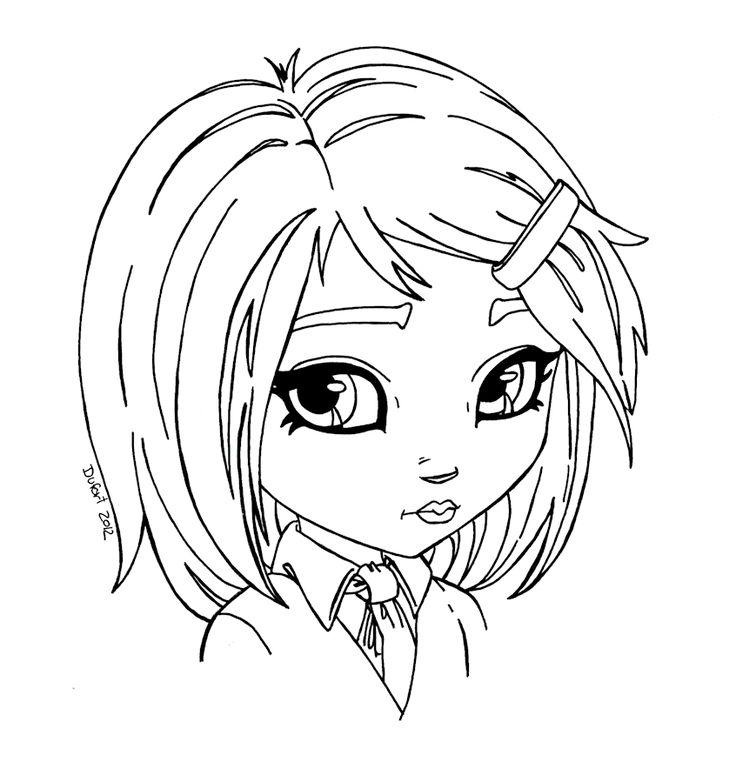 School girl by JadeDragonne.deviantart.com on @deviantART