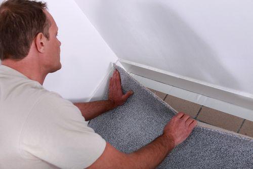 DIY Carpet Installation .