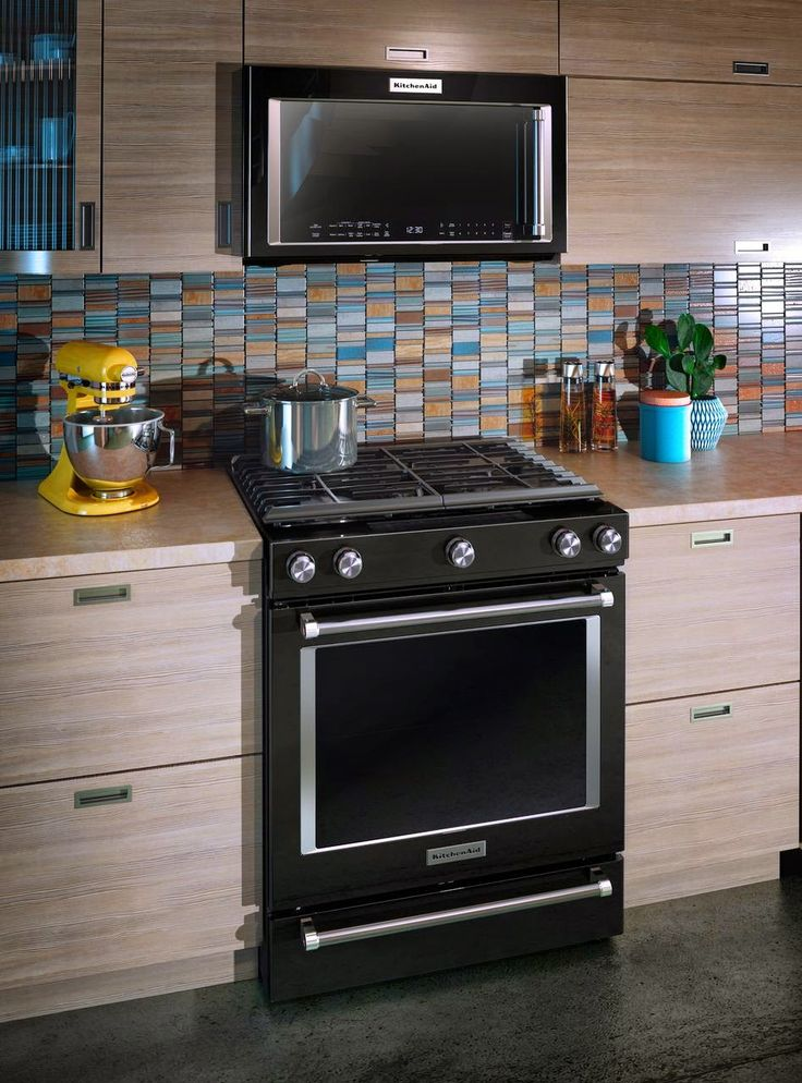 Kitchen Black Appliances: 17 Best New Appliance Colors! Stainless & Beyond Images On