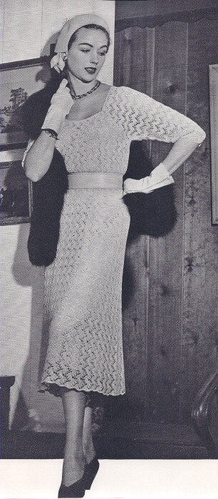 90 Best Vintage Knitting Images On Pinterest Vintage Knitting