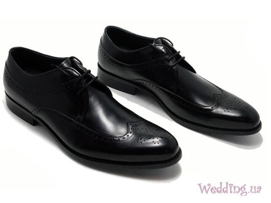 Мужские свадебные туфли.